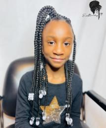 TRENDING LITTLE KIDS BRAIDING HAIRSTYLES 2021 (6)