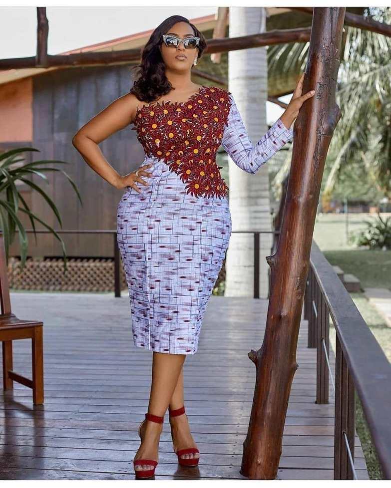 ankara short gowns (3)