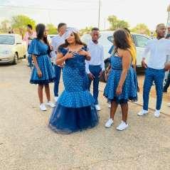 shweshwe traditional wedding dresses 2021 (6)