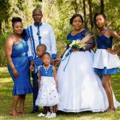 shweshwe traditional wedding dresses 2021 (8)