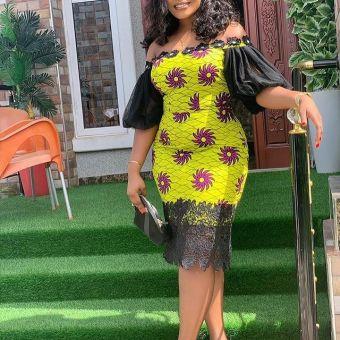 Stylish African Ankara Fashion Dresses 2021 (3)