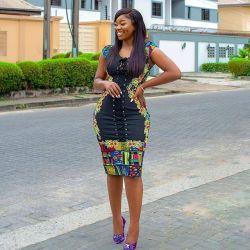 Stylish African Ankara Fashion Dresses 2021 (8)