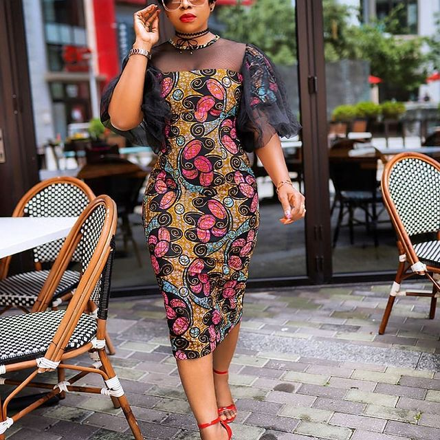 Amazing Ankara Dresses Gown Styles 2021 For Ladies (12)