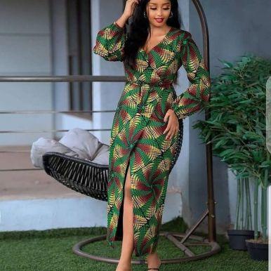Kitenge Fashion 2021 For African Ladies - Kitenge Fashion (11)