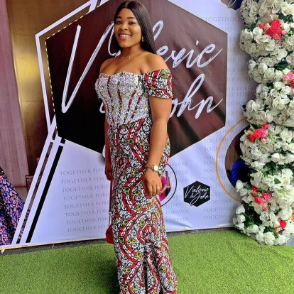 Latest Ankara Gowns 2021 For Ladies (6)