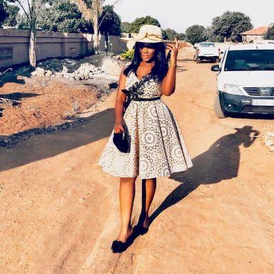 Latest Shweshwe Traditional Dresses For 2021 (9)