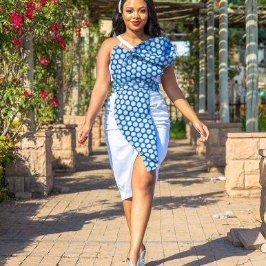Perfect Traditional Shweshwe Dresses 2021 (13)