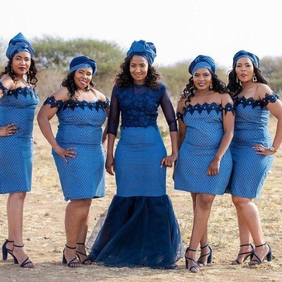 Traditional Shweshwe Dresses 2021 for Wedding (7)