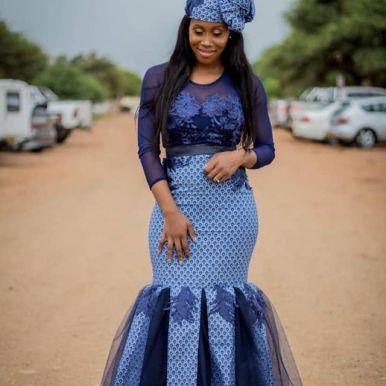 Traditional Shweshwe Dresses 2021 for Wedding (9)