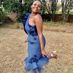 UNIQUE SHWESHWE TRADITIONAL DRESSES AFRICAN 2021 (9)