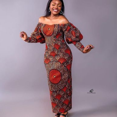 Lovely African Ankara Fashion Dresses 2022 (12)
