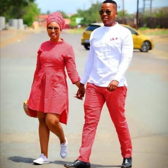 Shweshwe Traditional Dresses 2021 For Black Woman (6)