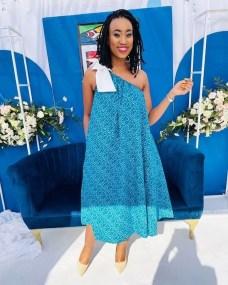 Trendy African Traditional Shweshwe Dress 2021 (14)