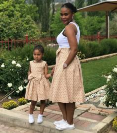 Trendy African Traditional Shweshwe Dress 2021 (4)