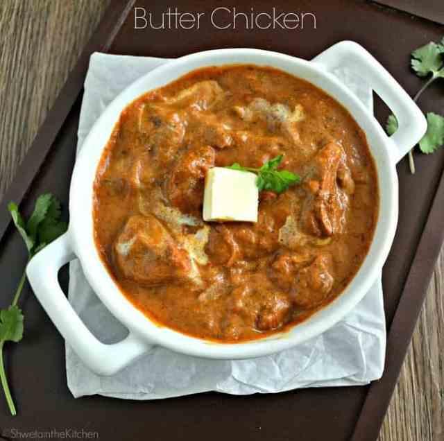 Butter chicken murg makhani chicken makhani shweta - Herve cuisine butter chicken ...
