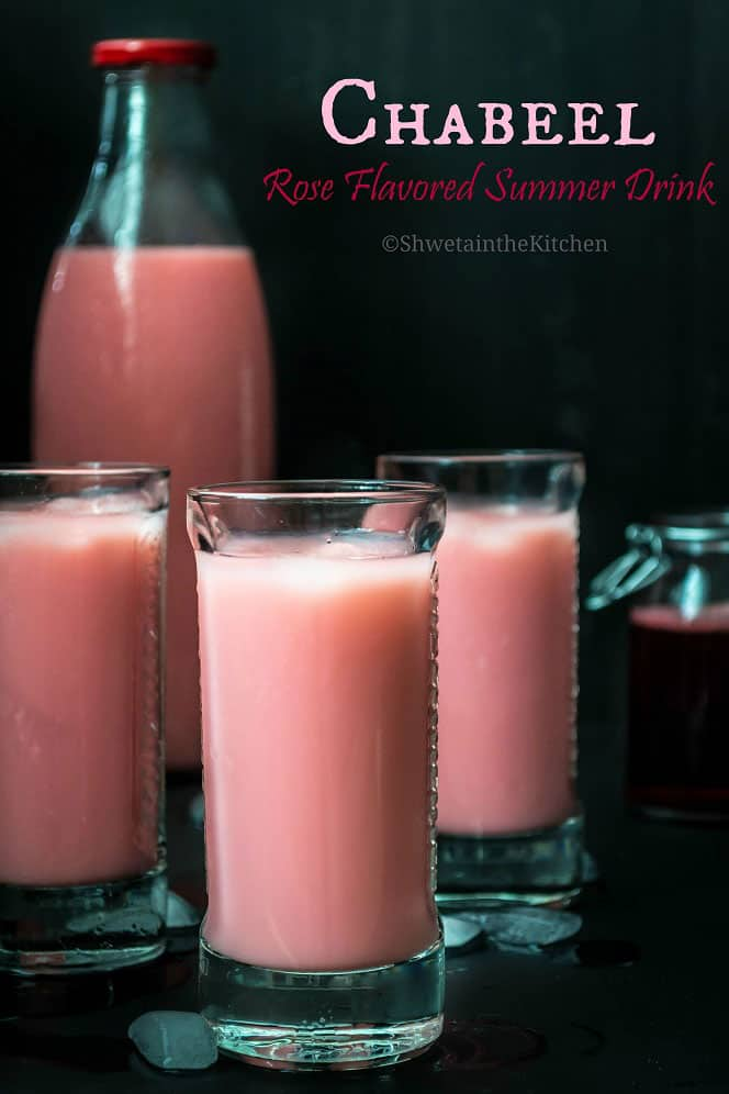 Chabeel - Kachi lassi - Rose Flavored Summer Drink