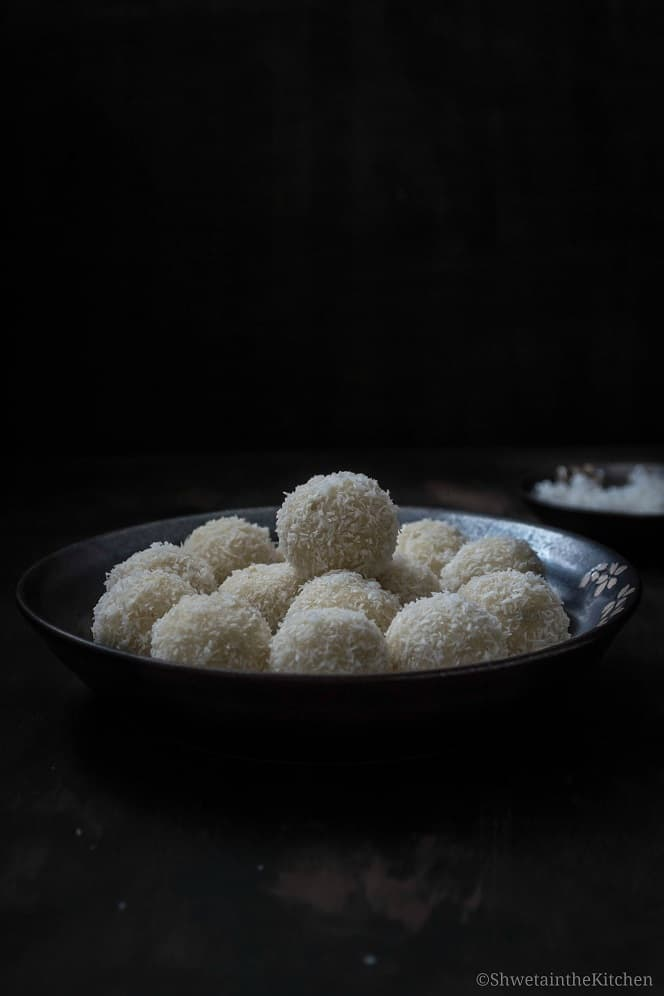 Easy Coconut Ladoo recipe