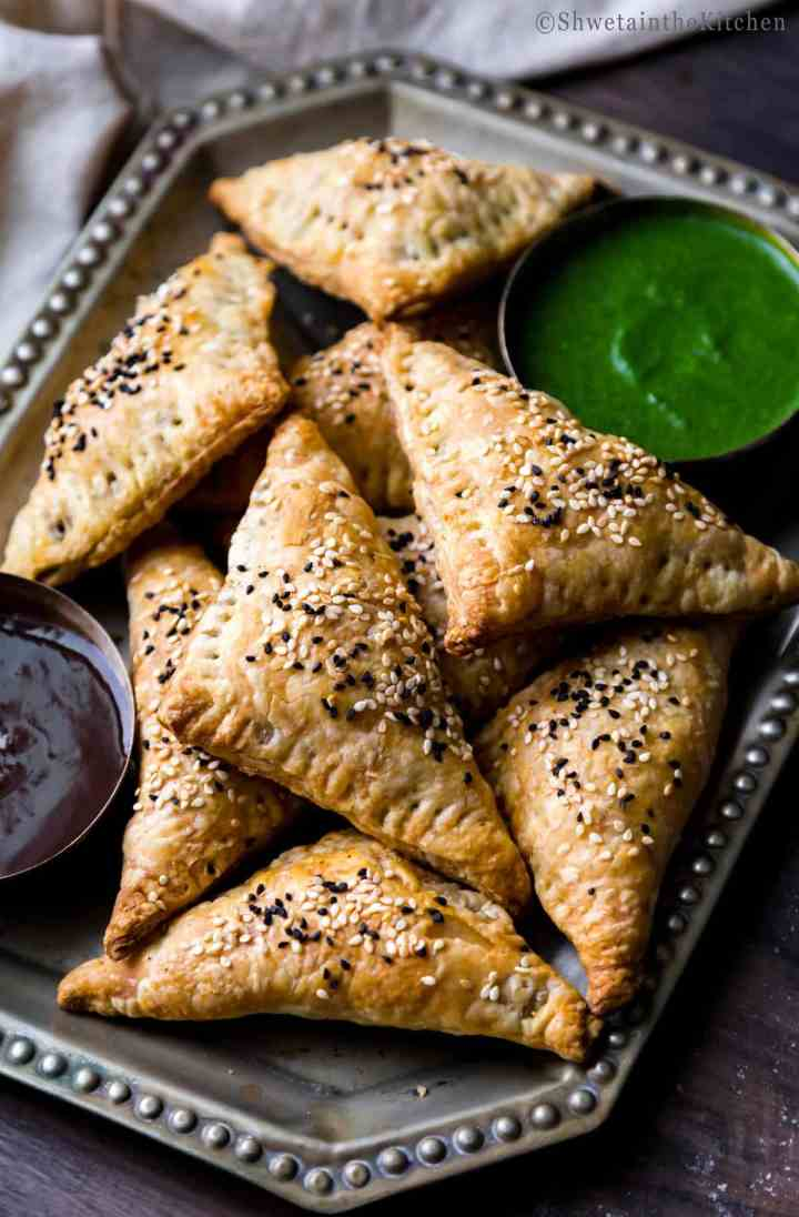 Paneer and Peas Triangles