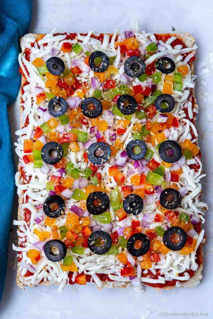 Veg Pizza Sliders