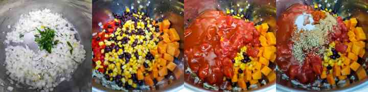 Quinoa Enchiladas Soup - Step1