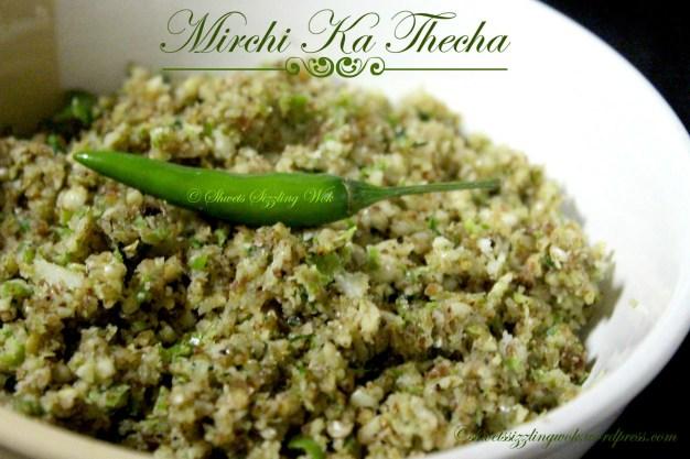Mirchi Ka Thecha