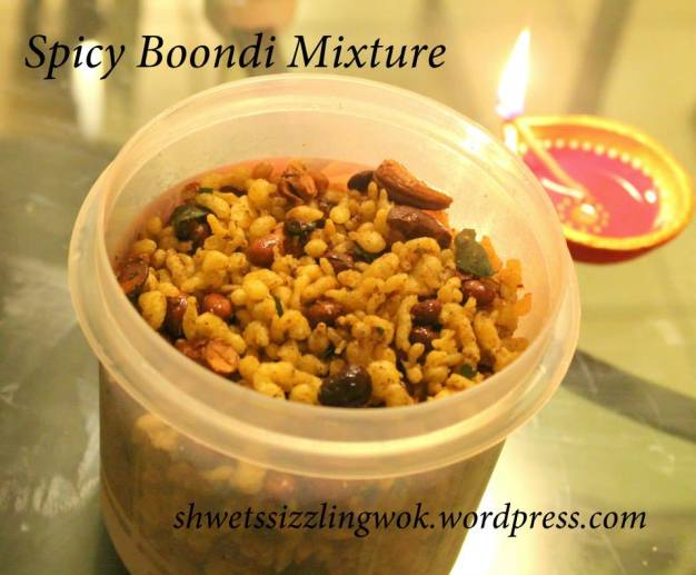 Spicy Boondi Mixture