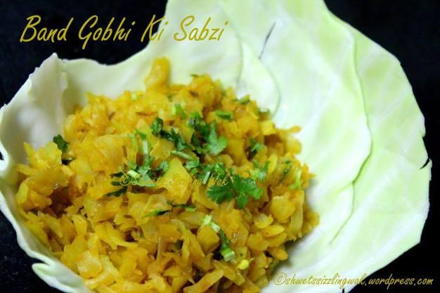 Band Gobhi Ki Sabzi