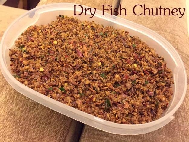 Dry Fish chutney