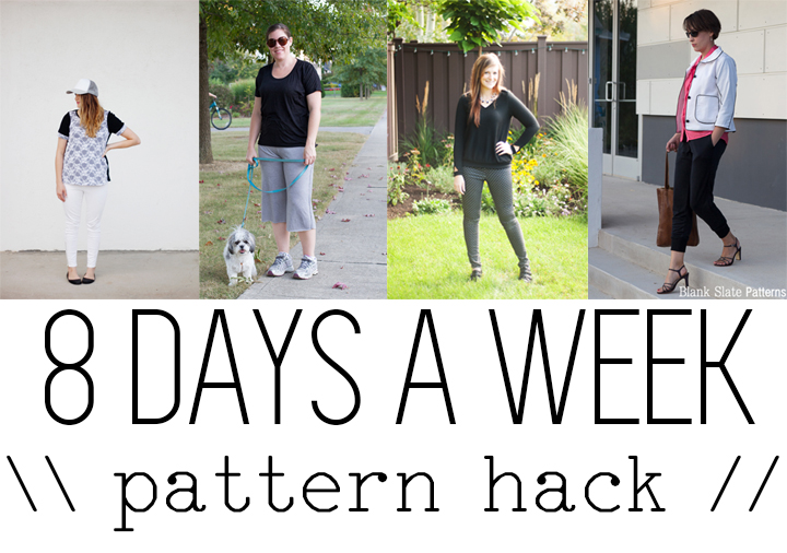 8 Days A Week Collection || Pattern Hack