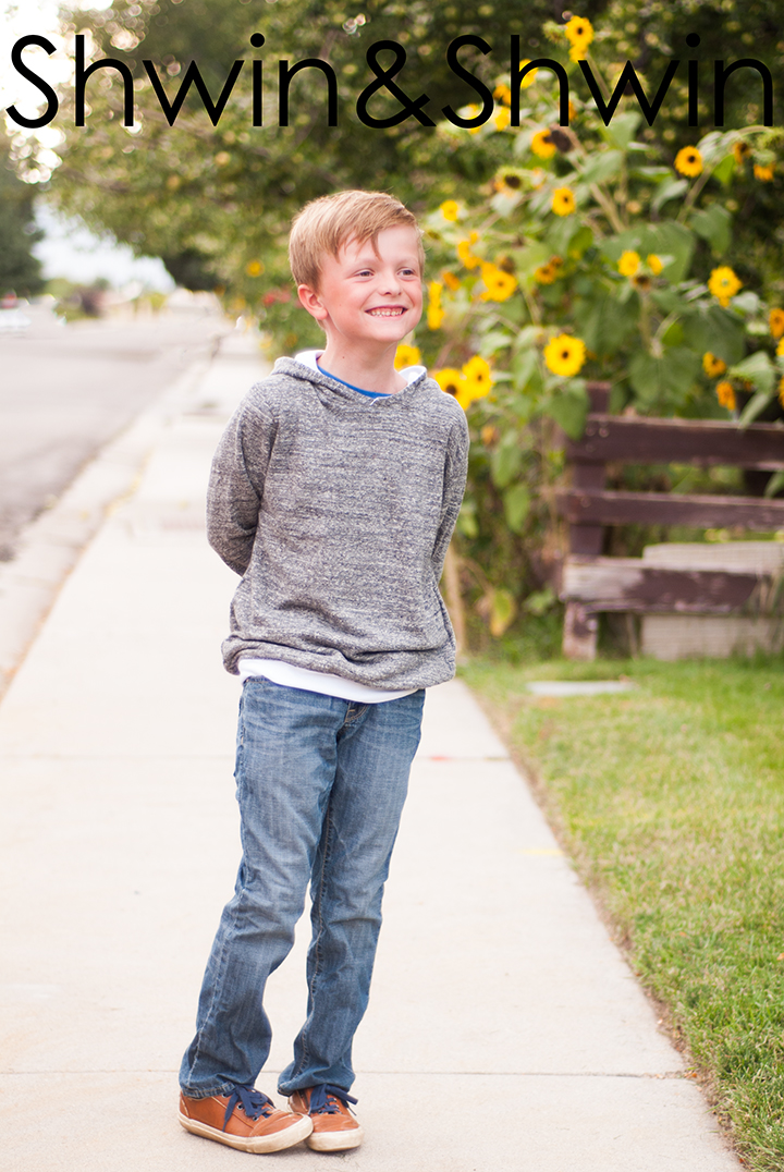 Boys Hooded Sweatshirt Free Pdf Pattern Shwin Amp Shwin