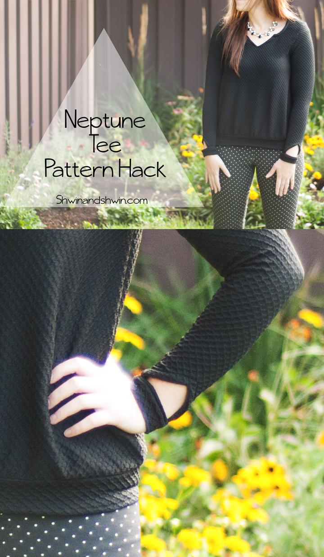 Neptune Sweatshirt || 8 Days A Week Collection || Pattern Hack