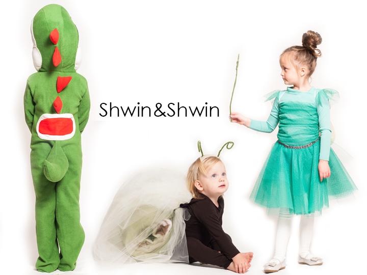 Yoshi, Snail, and Fairy Princess Halloween Costumes DIY