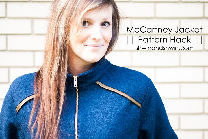 McCartney Jacket Hack || 8 Days A Week Collection || Shwin&Shwin