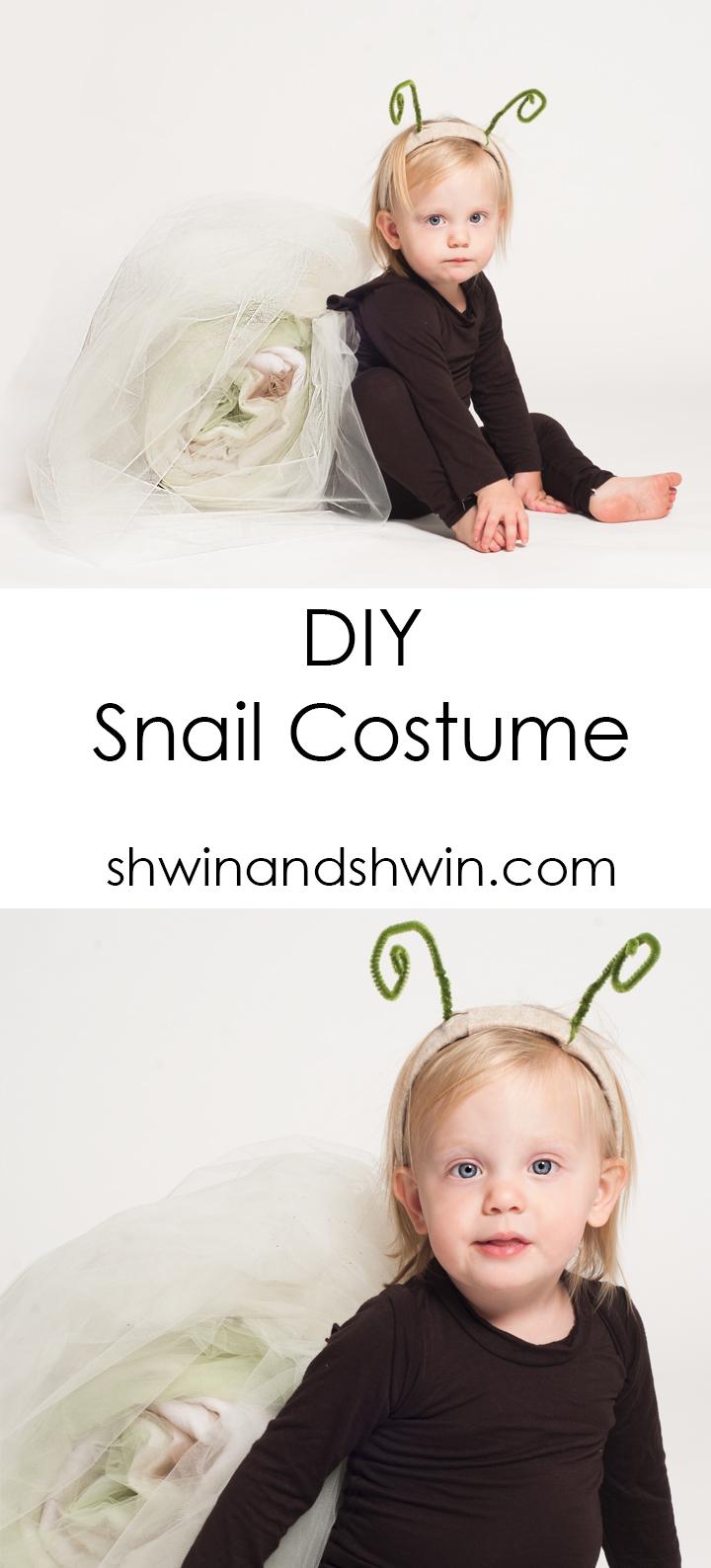 DIY Snail Costume|| HOW TO || Shwin&Shwin