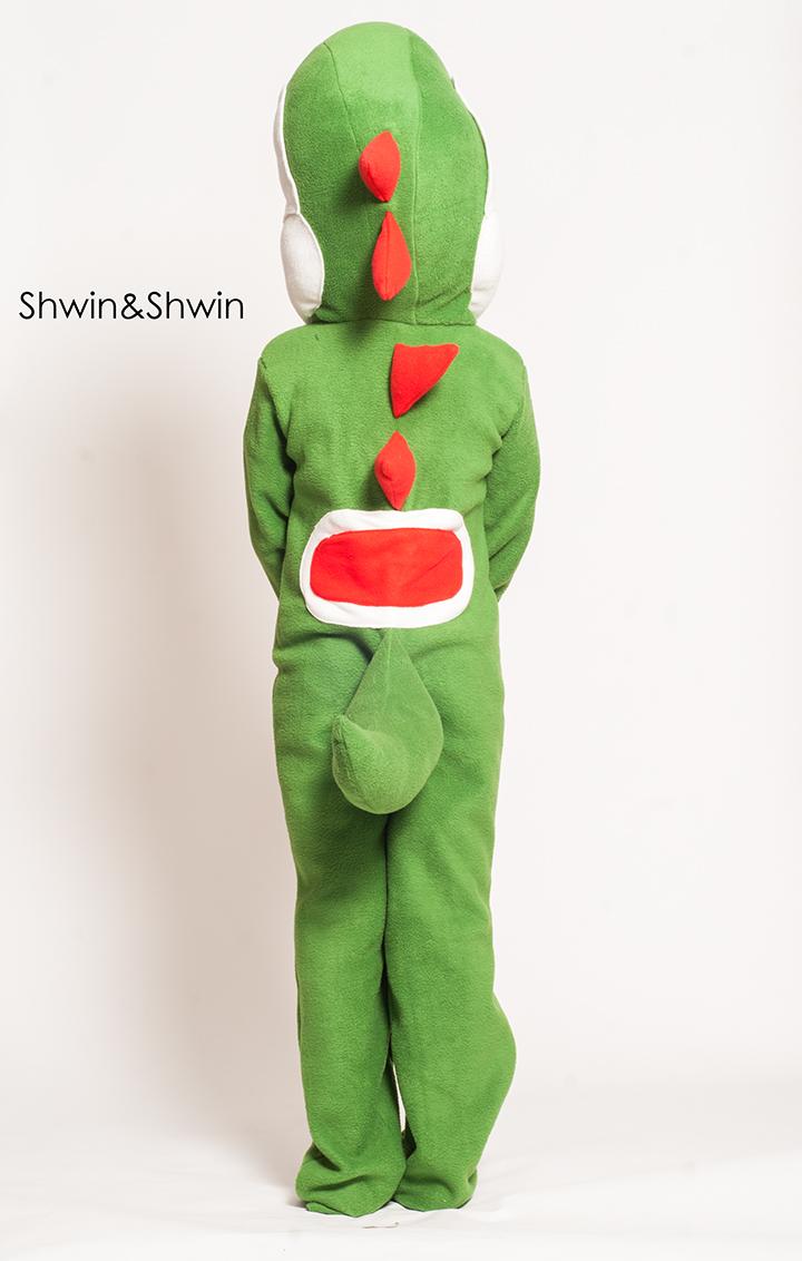 DIY Yoshi Costume || Shwin&Shwin