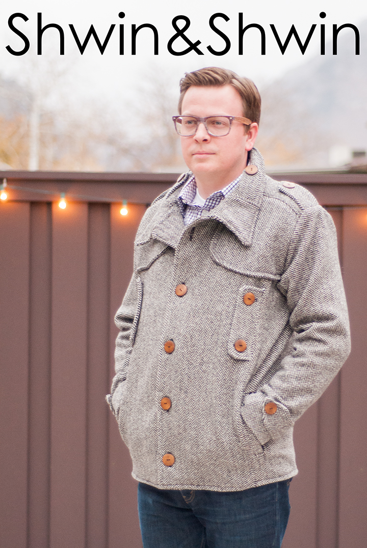 Men's Winter Jacket | Fashionable Winter Clothing You Need To Sew For Your Family | winter jackets for men