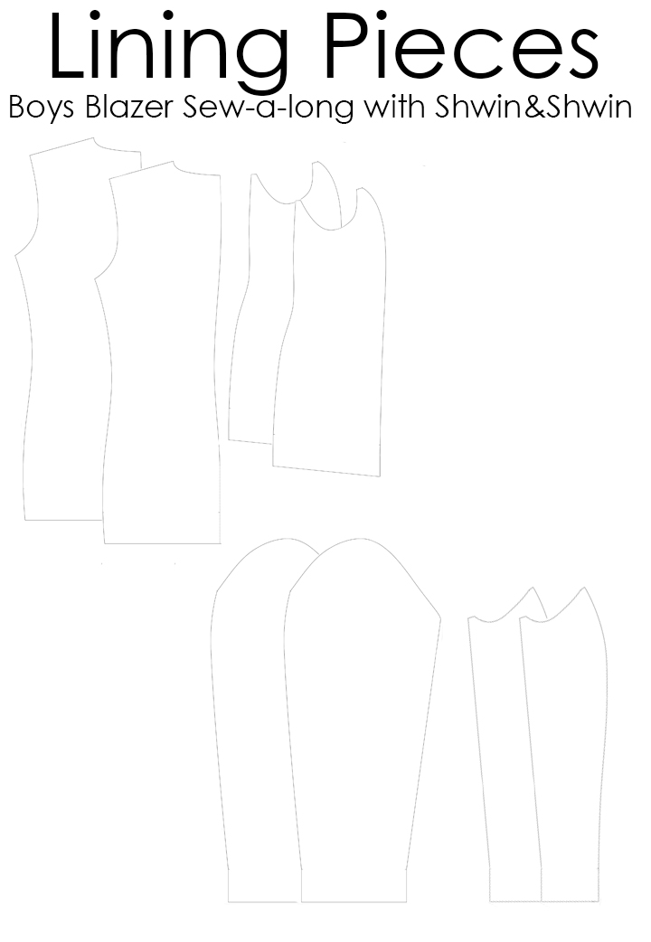 Boys Blazer Pattern Sew-a-long ||FREE PDF Pattern || Cutting and Prepping