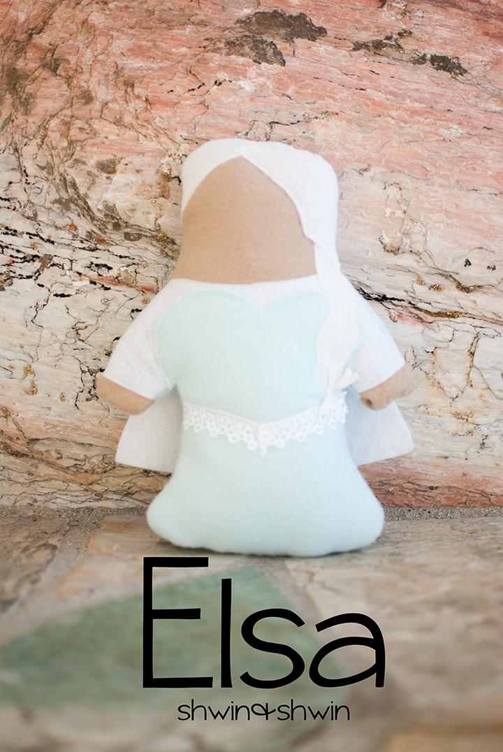 Princess Sofites || Frozen inspired dolls || FREE pattern || shwin&shwin