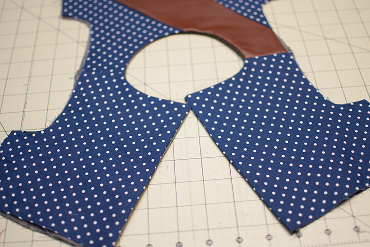 Pieced Bodice Dress || Leather&Linen || Free PDF Pattern || Shwin&Shwin