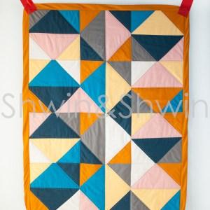 2 Triangle Quilt Pattern || FREE PDF || Shwin&Shwin