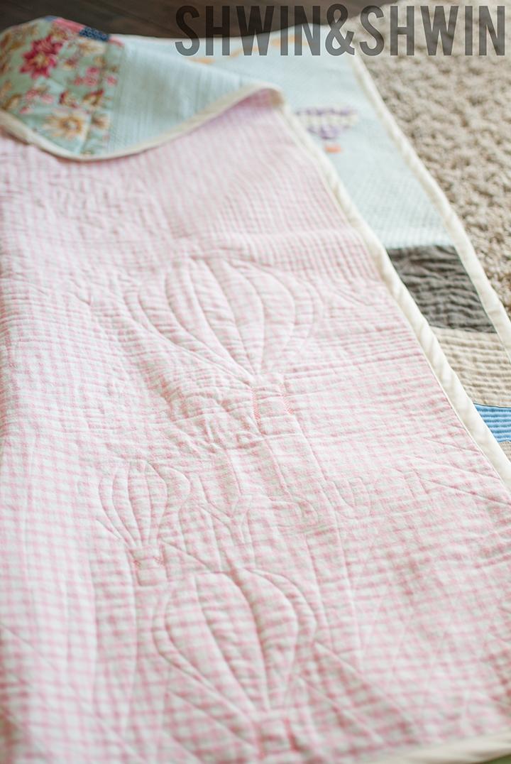 Vintage Babar Inspired Quilt || Free Printable Pattern || Shwin&Shwin