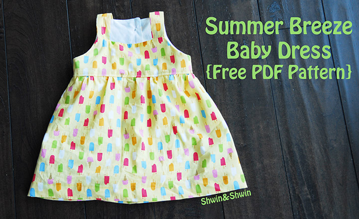 0dae4689dd25 Summer Breeze Baby Dress - Shwin and Shwin