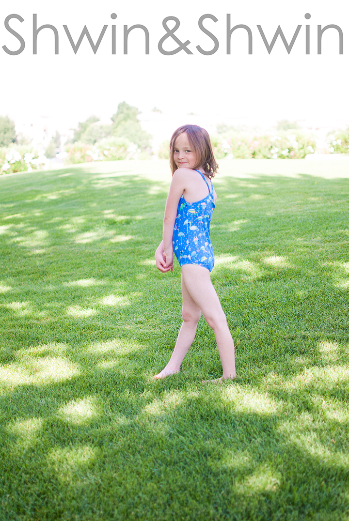 Racer back Swimsuit || With FREE PDF Pattern || Shwin&Shwin