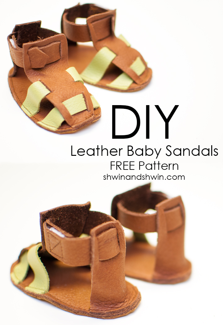 9a6573640 Free Leather Sandals Pattern