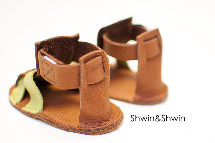 DIY Leather Sandals || FREE PDF Pattern || Shwin&Shwin