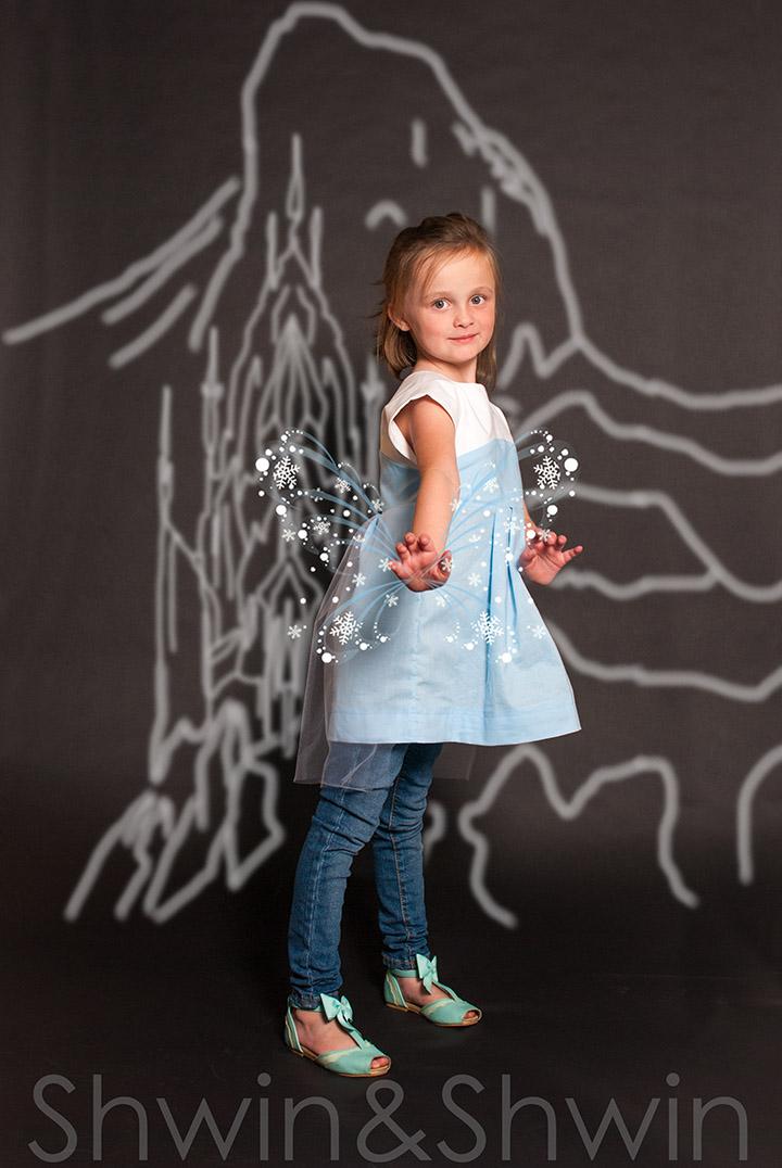 Everyday Princess Tunic || Elsa || From the Maggie Mae Pattern || Shwin&Shwin