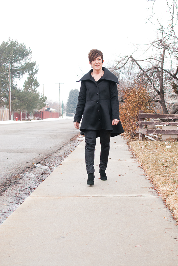 Women's Nina Coat || PDF Pattern by Shwin Designs