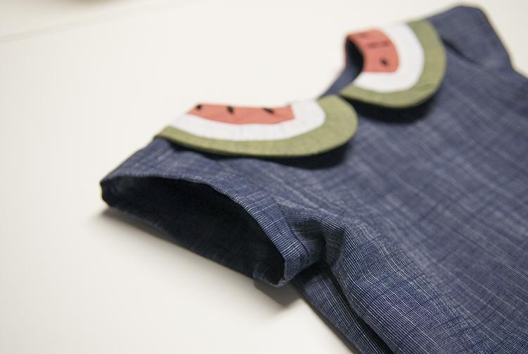 Watermelon Dress || Free PDF Pattern || Shwin&Shwin