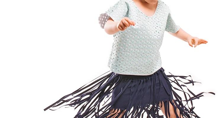 DIY Fringe Skirt Tutorial