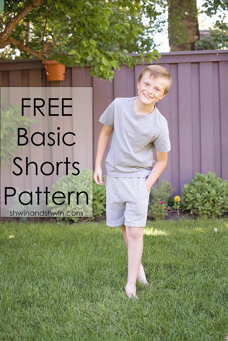 Free Basic Shorts Pattern || Shwin&Shwin
